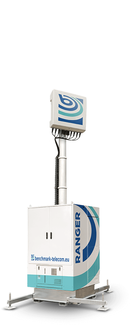 Benchmark Ranger mobile cell tower