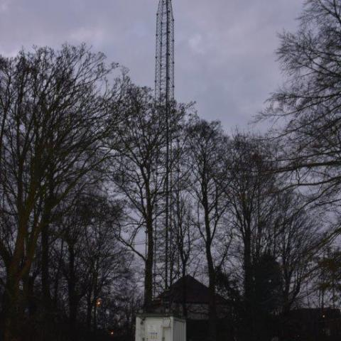 Temporary towers